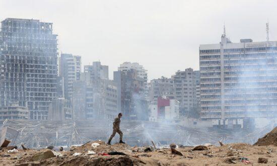 Pentagon: Trump and Esper 'Consistent' on Beirut Explosion