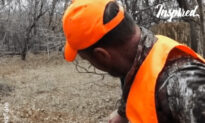 Deer Shows Affection To Hunters That Rescued It