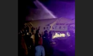 Air India Plane Crash-Lands, Casualties Reported
