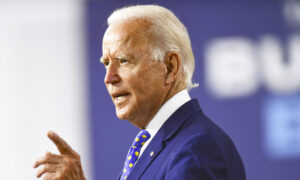 Biden Campaigns Hard on Healthcare