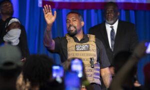 Top Democrat: 'No Question' Kanye West Campaign Is Meant to Take Votes From Biden