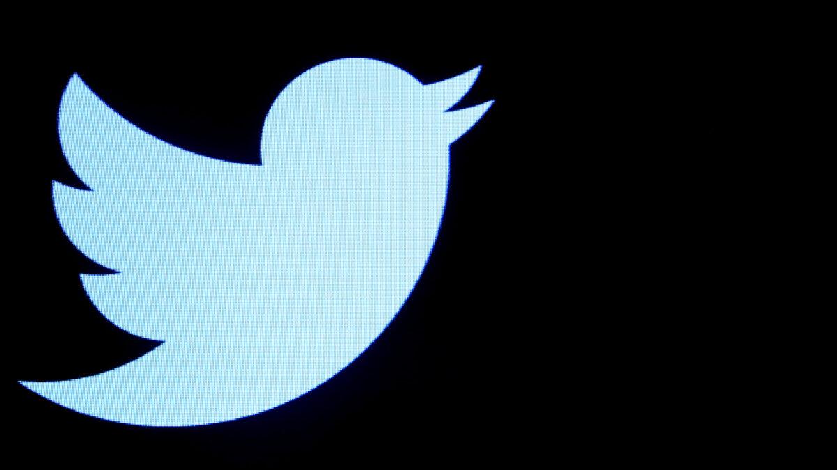 The Twitter logo i