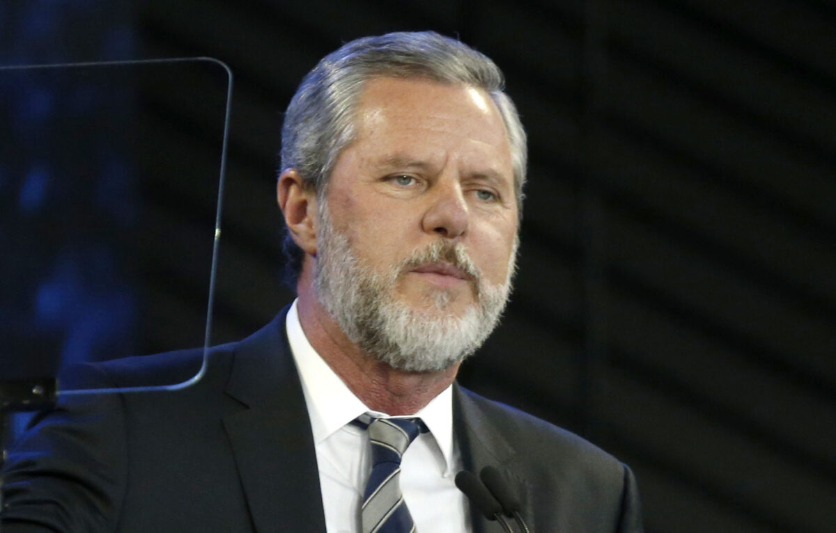 Liberty University President Jerry Falwell Jr. Placed on...