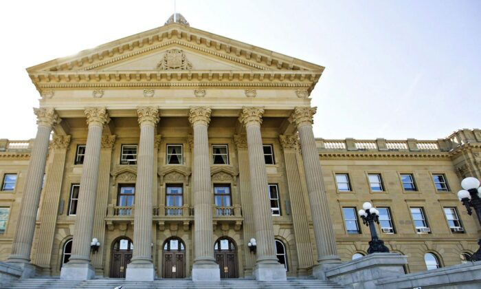 The Alberta Legislature in a file photo. A revamp of Alberta's school curriculum puts the focus on literacy and numeracy and removes discovery/inquiry learning. (The Canadian Press/Jason Franson)