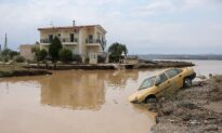 Five Killed as Thunderstorms Flood Greek Island Homes