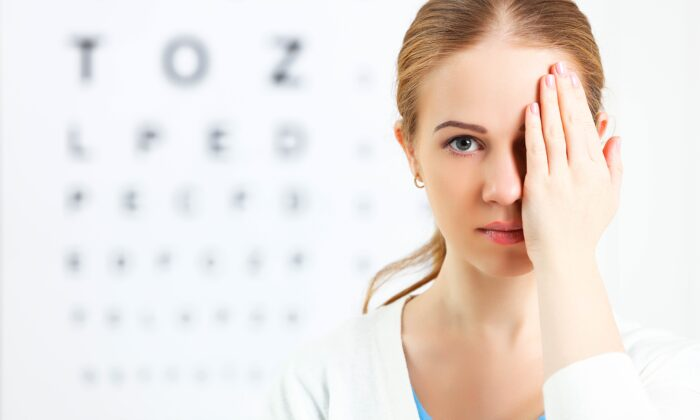 Eye health is closely linked to overall health and a few essential nutrients that are specific to the eye. (Evgeny Atamanenko/Shutterstock)
