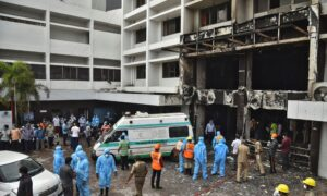 7 Die in Fire at COVID-19 Hotel Facility in India