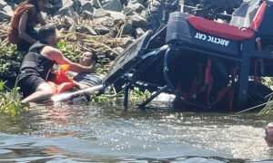 Off-Duty Sheriff's Deputy Out Boating Saves 3 People's Lives After ATV Crashes Into Delta