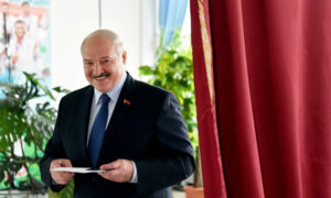 Official Results Hand Belarusian Leader Lukashenko Re-election Victory, Opposition Protests