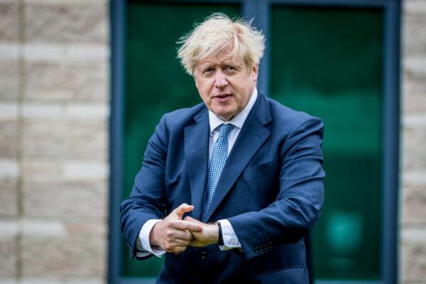 British Prime Minster Boris Johnson