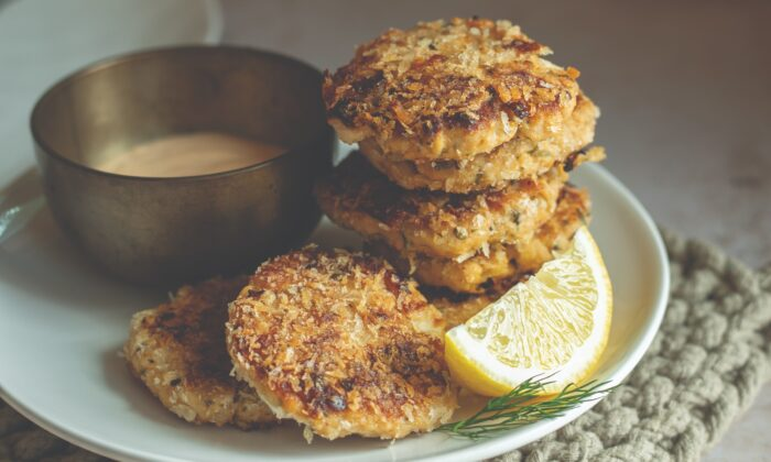 Superfood salmon cakes. (Brian Grobleski)