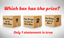 Can You Figure Out Which Box Holds the Prize If Only One of the Statements Is True?
