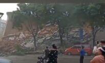 Flood-Related Damages Cause Landslides and Destruction in China