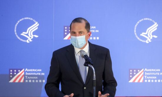 Health Secretary Azar Criticizes Beijing Over Mishandling of Pandemic During Taiwan Speech