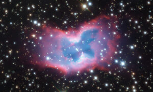 Astronomers Capture Photo of 'Space Butterfly' From Thousands of Light Years Away