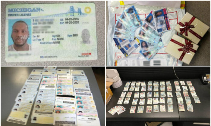 Fake IDs seized by U.S. Customs and Border Protection. (CBP)