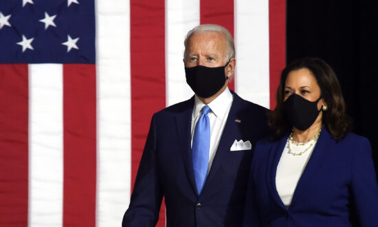 Biden and Harris Make First Public Campaign Appearance