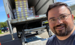 Man Helps Farmers to Deliver 3 Million Pounds of Unsold Produce to Food Banks