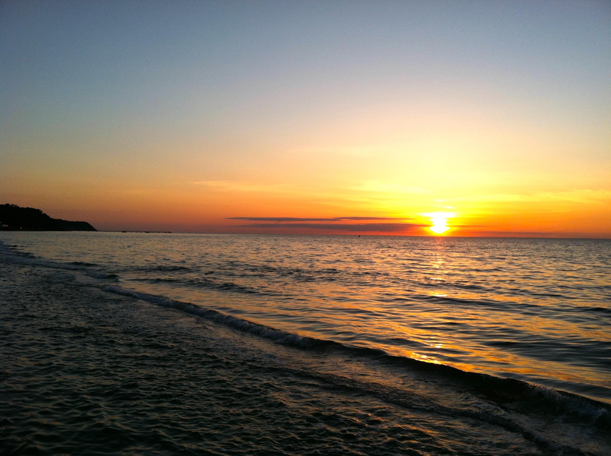 North Fork sunset