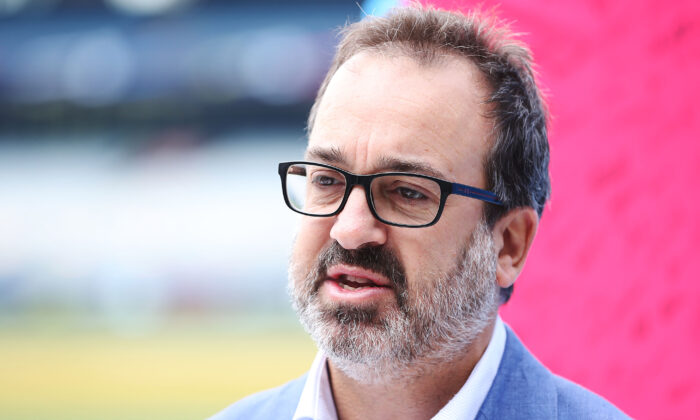 Department of Jobs, Precincts and Regions Minister Martin Pakula in Melbourne, Australia on March 8, 2019. (Michael Dodge/Getty Images)