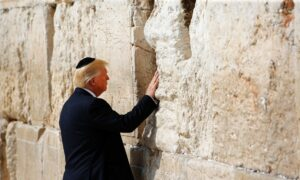 Trump Again Proves He Cares More for Israel Than Most American Jews