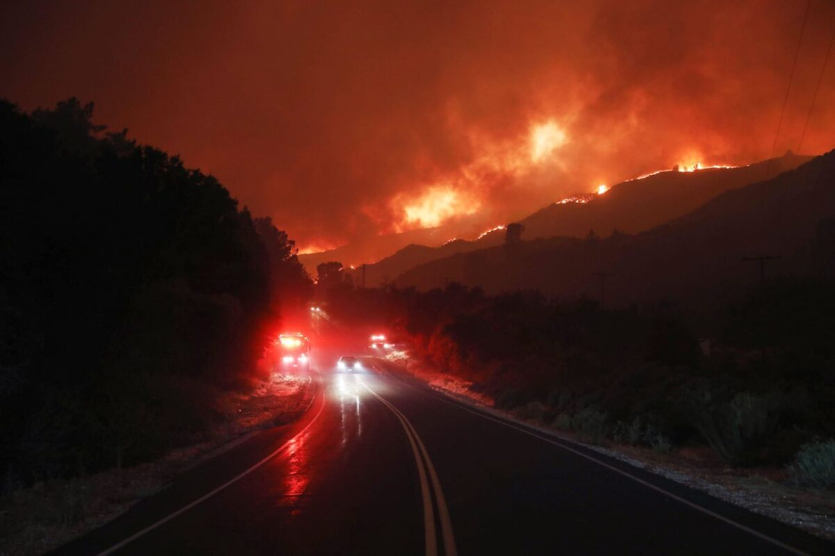 Ranch2 Fire in Azusa Burns 3,000 Acres, Forcing Evacuations