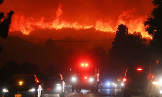Evacuation Orders Issued After Southern California Wildfire Erupts North of Los Angeles