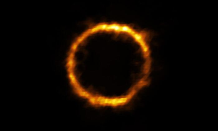 (Courtesy of Rizzo et al./ALMA/European Southern Observatory)