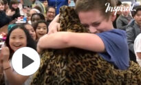 Wonderful Surprise From Military Members