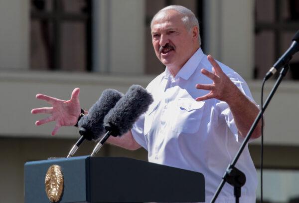 Belarus president Lukashenko