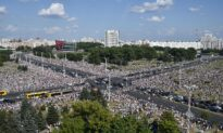 Huge Protest in Belarus as Europe's 'Last Dictator' Rejects Repeat Election