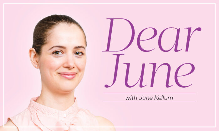 The new advice column from The Epoch Times, Dear June. (The Epoch Times)