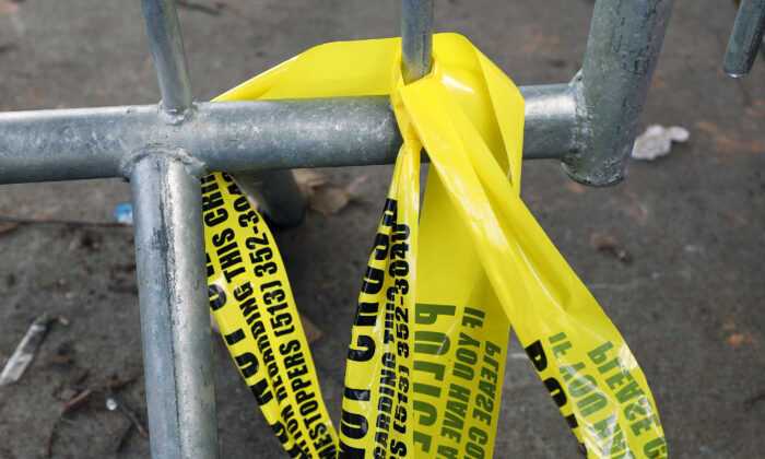 Police tape in a file photo. (Bill Pugliano/Getty Images)
