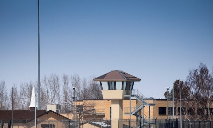 The Bowden Institution medium security facility near Bowden, Alta., on March 19, 2020. (The Canadian Press/Jeff Mcintosh)