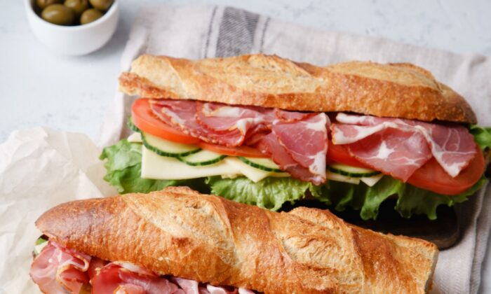 Homemade French baguettes will take your sandwiches to the next level. (Asya Nurullina/Shutterstock)