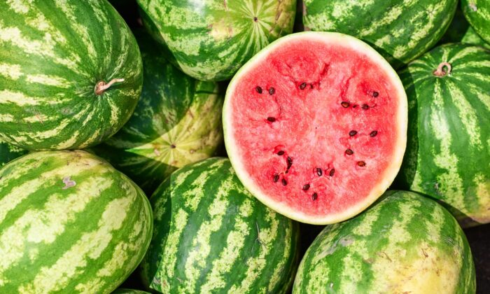 To pick the perfect watermelon, pay attention to the field spot. (Denis_Zai/Shutterstock)