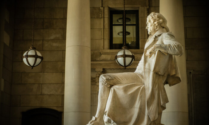 "Thomas Jefferson wrote in ""Notes on the State of Virginia,"" that ""History by apprising them of the past will enable them to judge of the future ... it will enable them to know ambition under every disguise it may assume; and knowing it, to defeat its views."" (Rick Grainger/Shutterstock)"