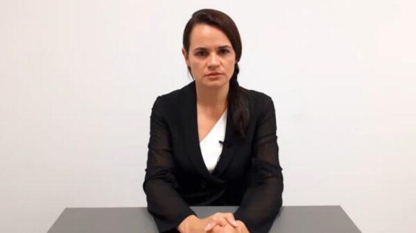 Belarusian opposition politician Tsikhanouskaya says she is ready to lead nation