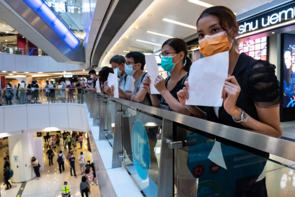 Demonstrations Continue In Hong Kong Against China's National Security Law
