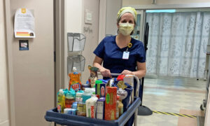 ICU Nurse Starts Free Pantry at Hospital to Help Health Care Workers in Need Amid Pandemic