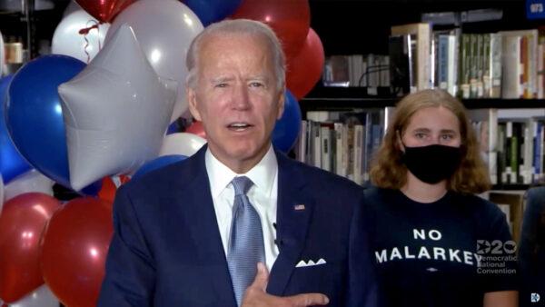 Joe Biden at DNC