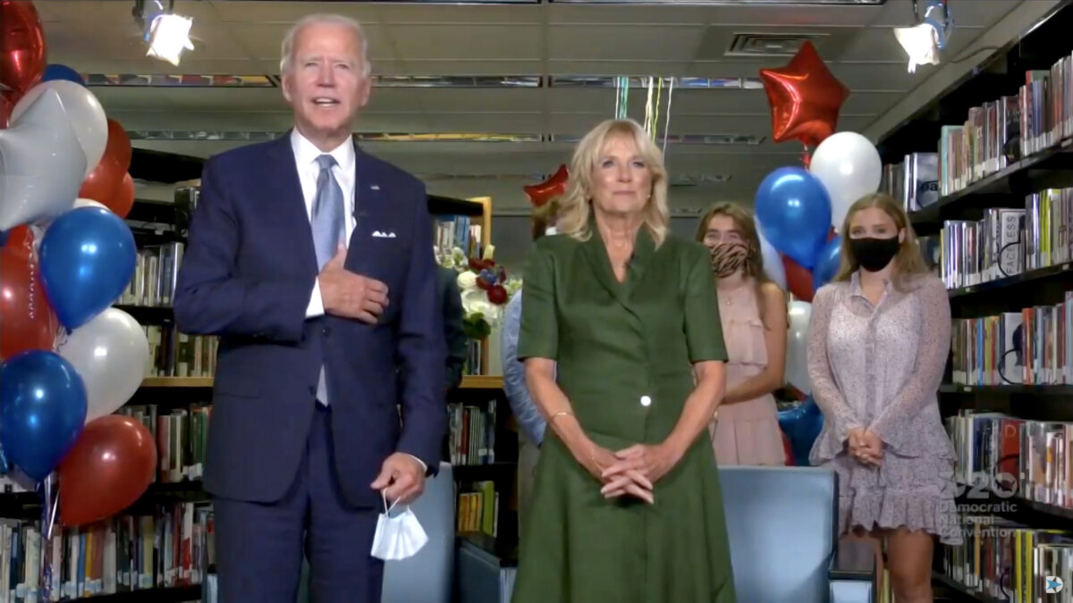 Jill Biden: Voters Don't Want to Hear About Alleged Hunter Biden Emails