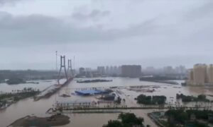 China: Water Rises to Second Floor as Authorities Discharge Flood Upstream