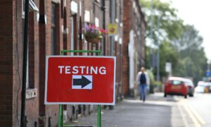 UK to Roll Out CCP Virus Tests for Asymptomatic People