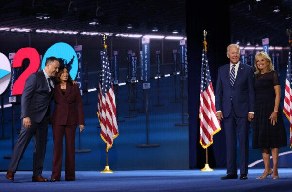 Vice Presidential Nominee Kamala Harris Addresses Virtual DNC From Delaware