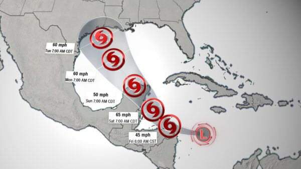 The second tropical system