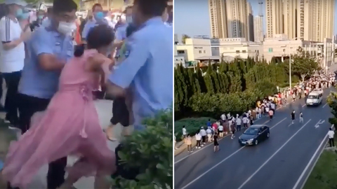 Unable to Buy Food, Dalian Residents Protest and Are Met With Police Suppression