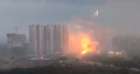 Terrifying Lightning Video from Northeastern China Shocks Netizens