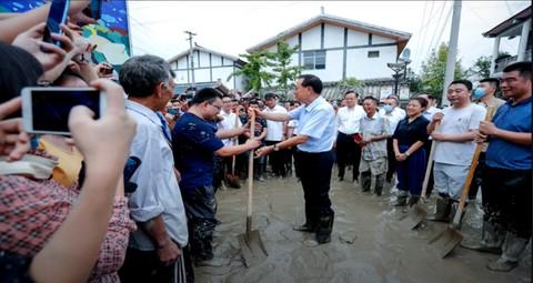 Temporary Actors Prearranged for CCP Premier Inspection