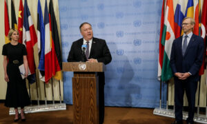 US Moves to Restore All UN Sanctions on Iran to Prevent It Supporting Terrorism